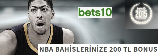 Bets10 200 TL NBA Bonusu