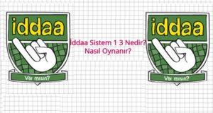sistem 1 3, sistem 1 3 nedir?, sistem 1 3 nasıl oynanır?, iddaa sistem 1 3, sistem 1 3 kaç tl?